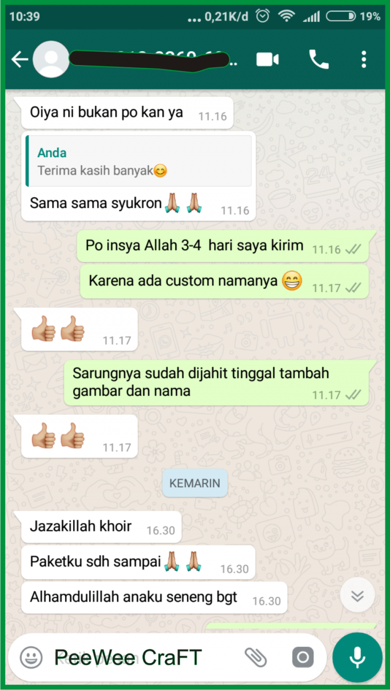 testimoni screenshoot peewee3
