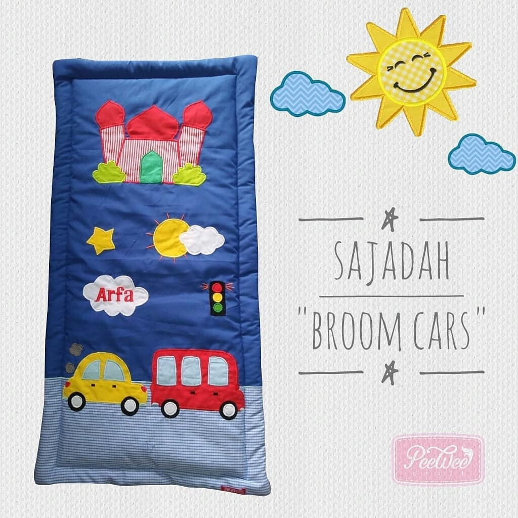 sajadah broom cars